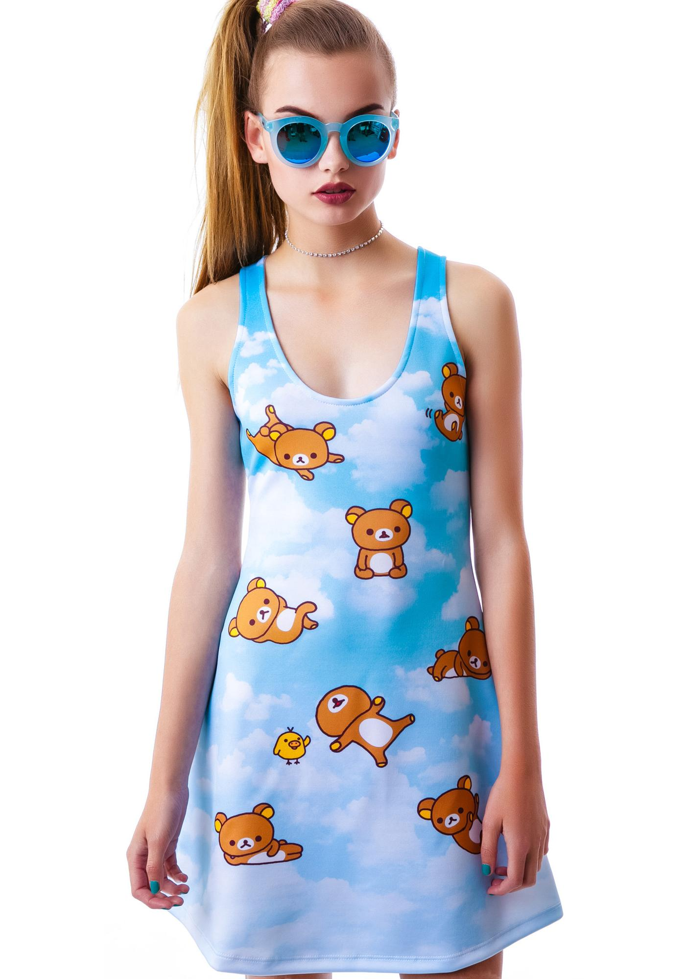 Japan L.A. Rilakkuma Sky Dress