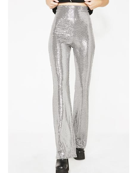 Club Nitez Metallic Pants