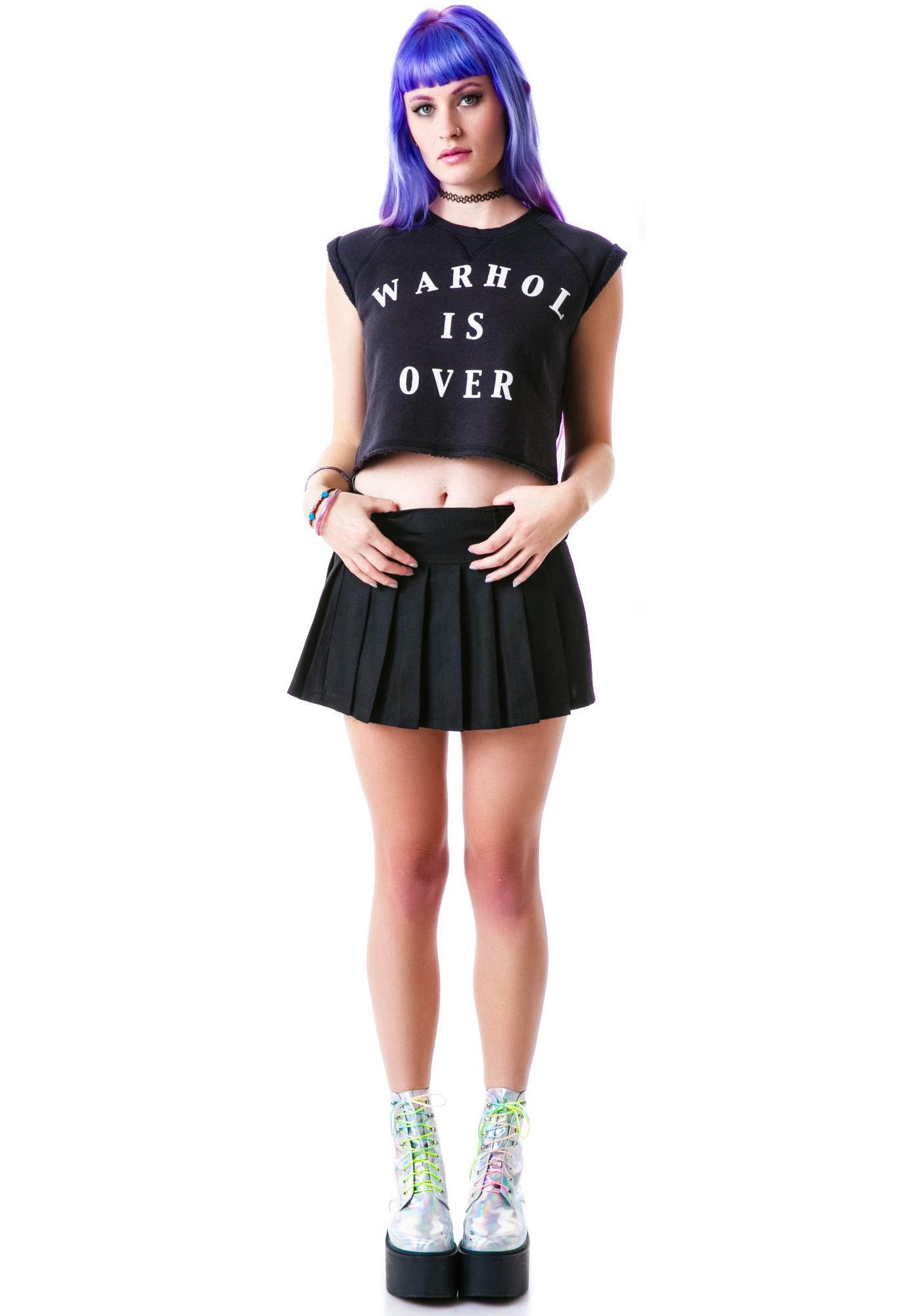 Zoe Karssen Warhol is Over Cropped Tee