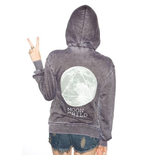 Wildfox Couture Moon Child Love Story Hoodie