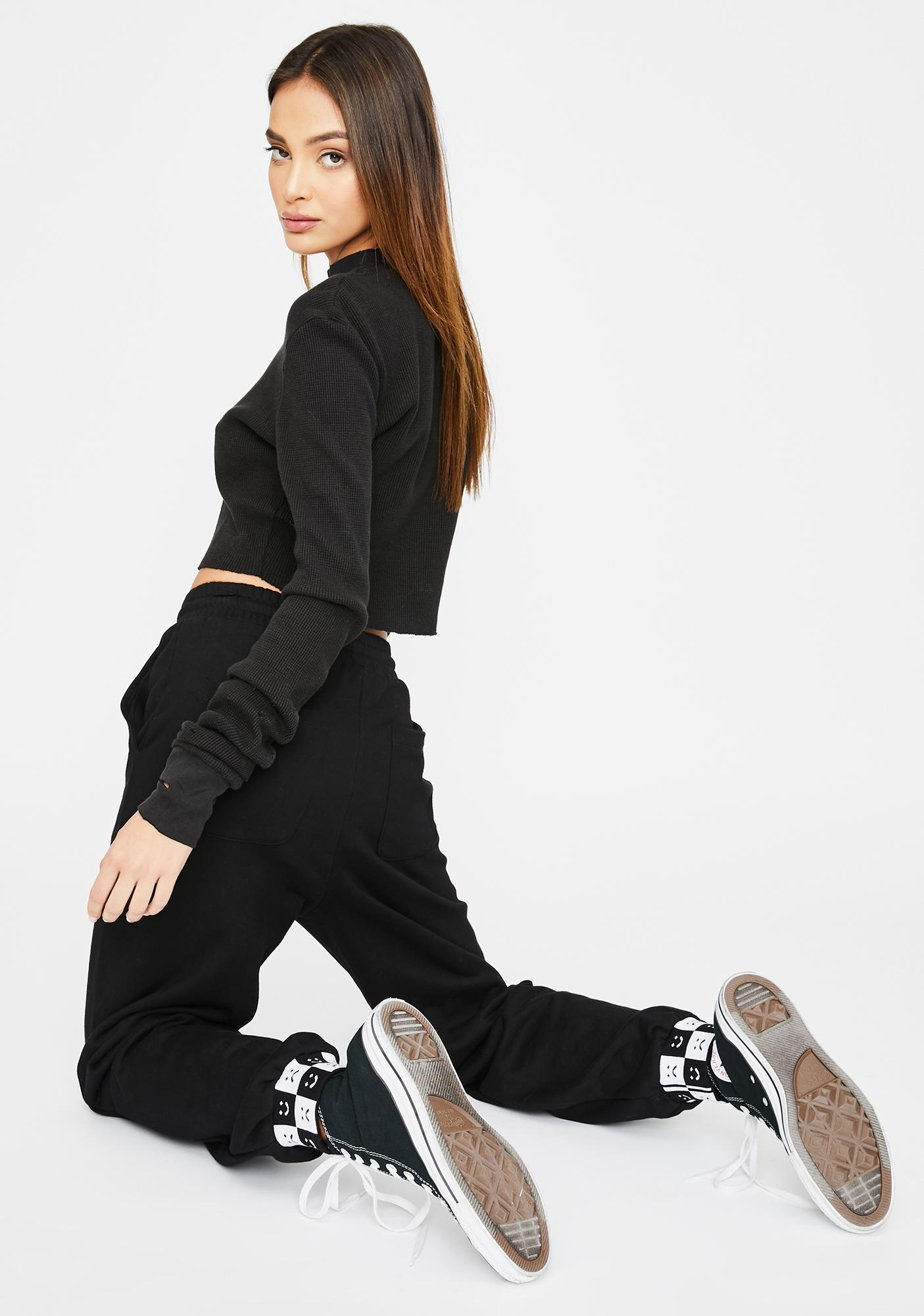 Lazy Oaf Happy Slouchy Joggers