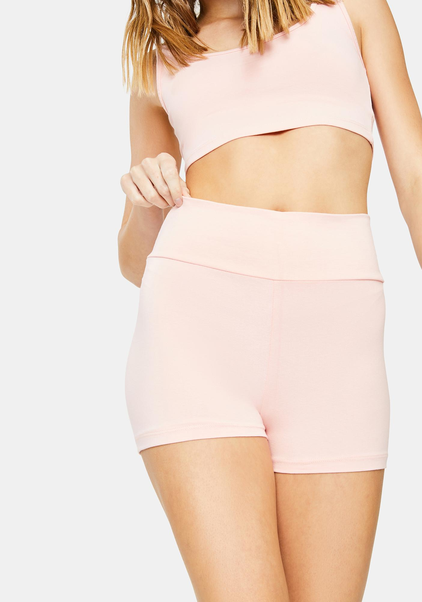 Kiki Riki Rose Lounge Booty Shorts