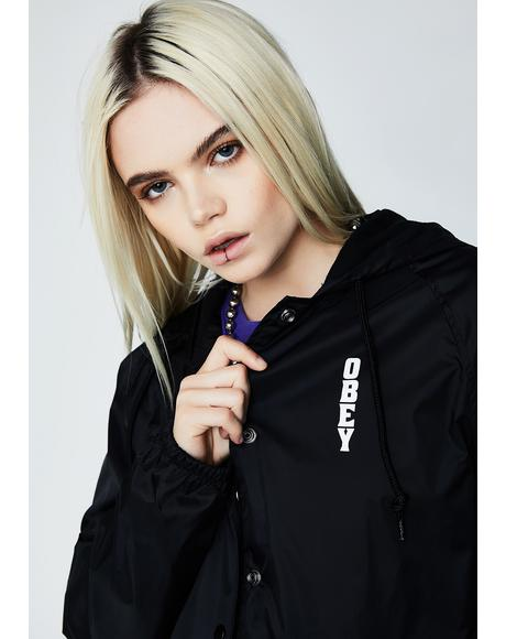Lonely Hearts Girl Coach Jacket