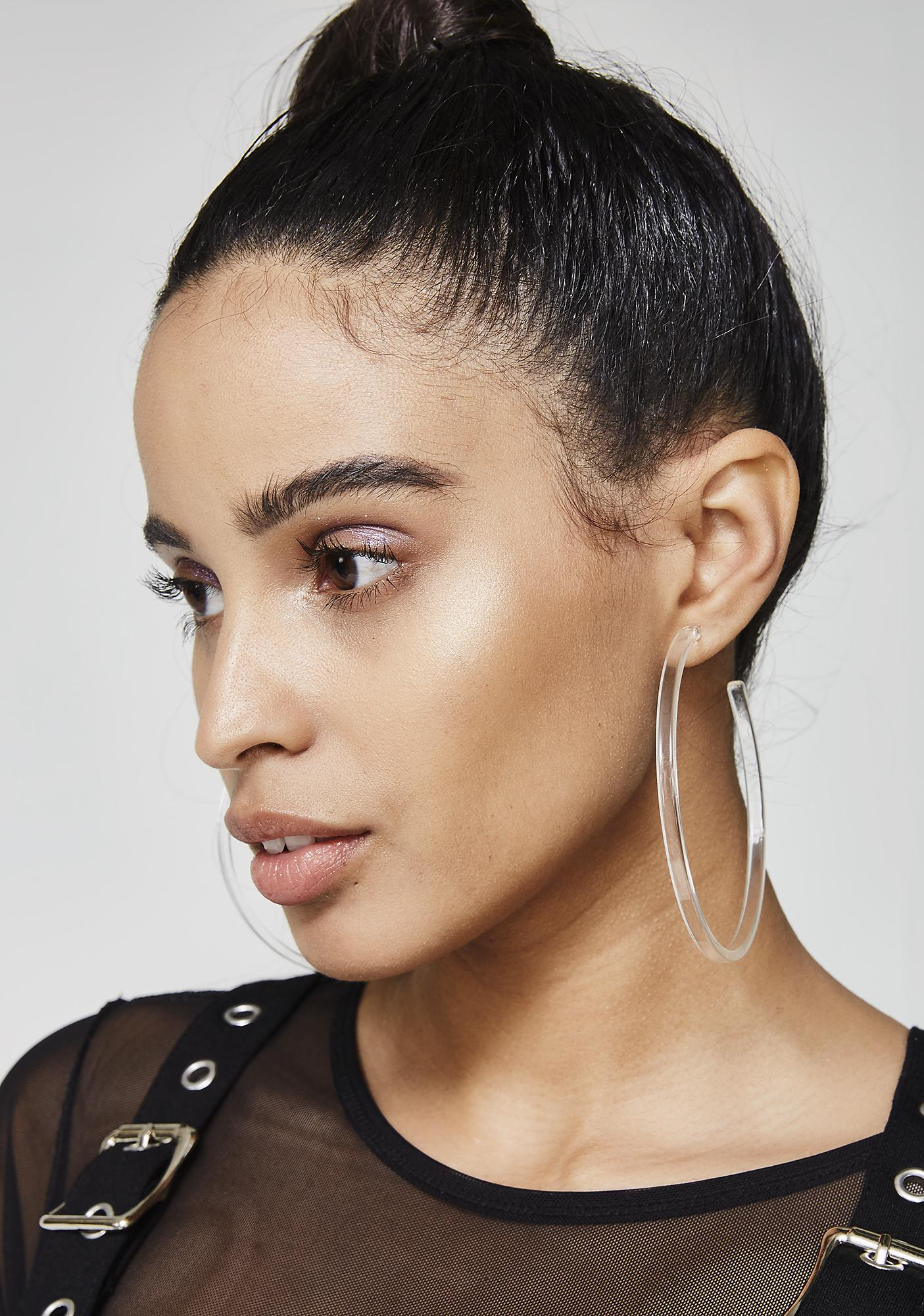 Get Loud Hoop Earrings