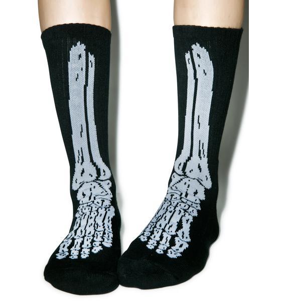 HUF HUF Bones Socks