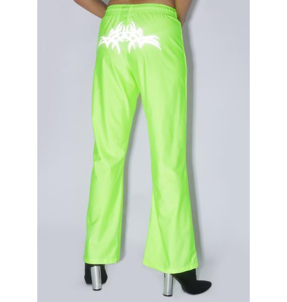 Ziq & Yoni Reflective Neon Sport Pants