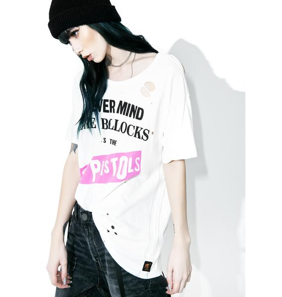 Trunk Ltd.  What Bollocks Distressed Tee