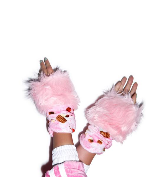J Valentine Cupcake Treat Gloves