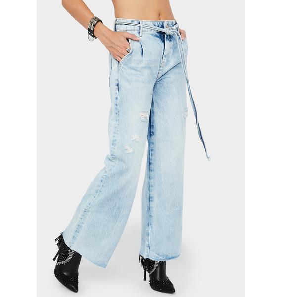 Free People Kinsey Crop Jeans