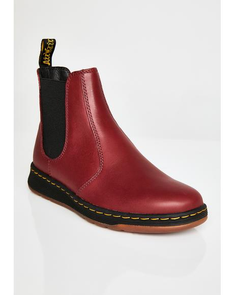 Cherry Red Grayson Boots