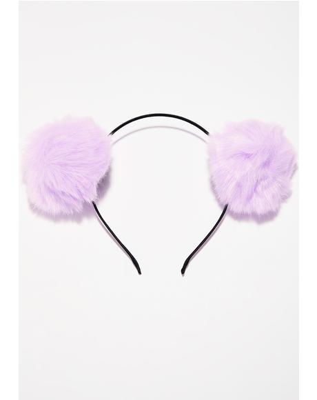 Pixie Babe Bear Pom Pom Ears