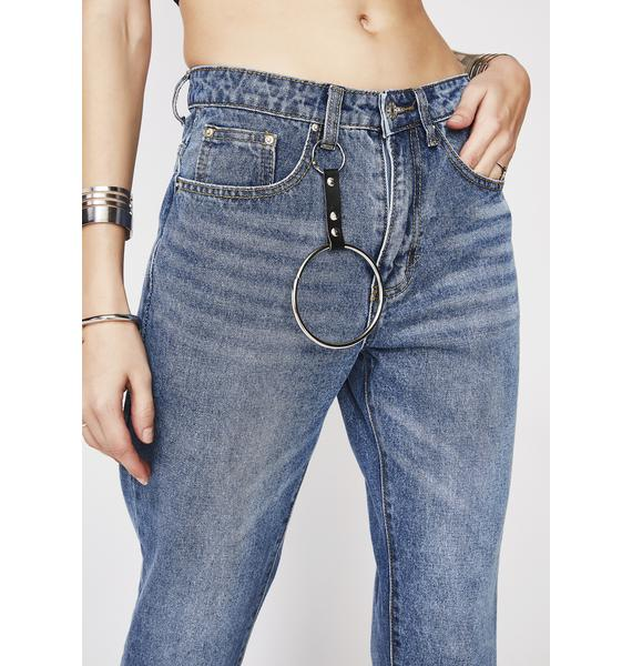 Momokrom O Ring Chain Jeans