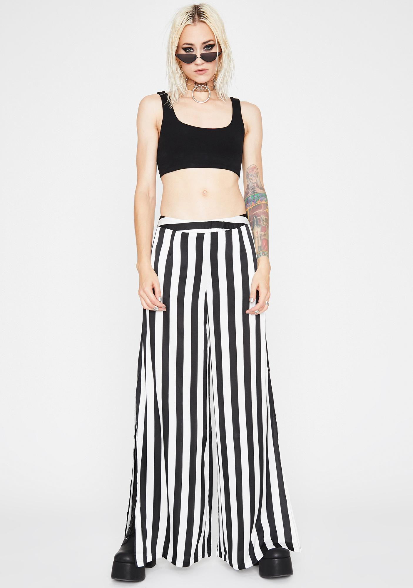 Dead To Me Wide Leg Pants