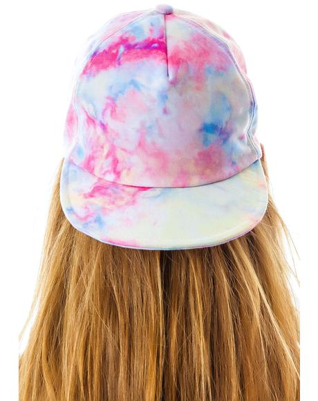 Tie Dye Folly Hat