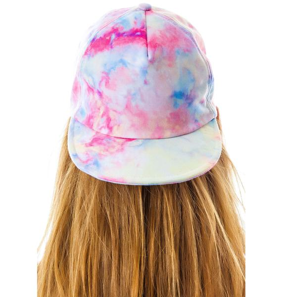 UNIF Tie Dye Folly Hat