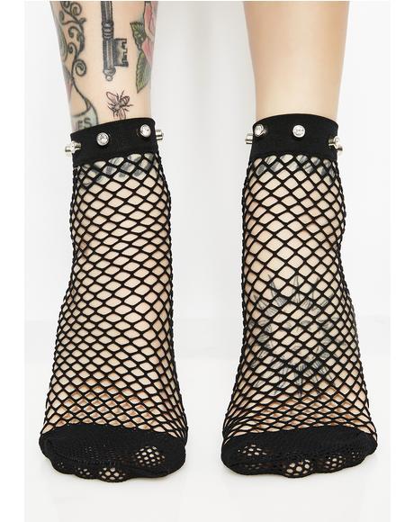 Classy BB Fishnet Socks