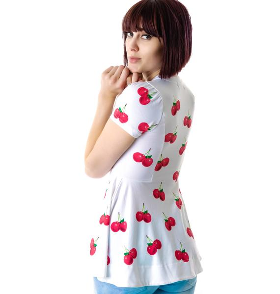 Wildfox Couture All Over Cherries Joan T