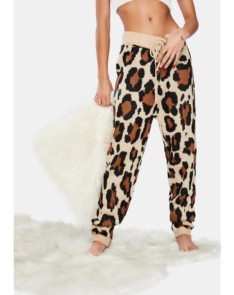 Prowl Princess Leopard Knit Leggings