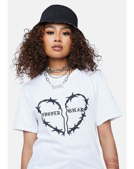 Barbed Heart Graphic Tee
