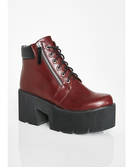 Pretty In Platform Boots