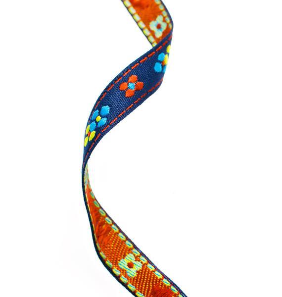 Vanessa Mooney Flower Ribbon Choker
