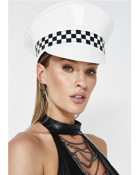 Ice Tight Race Checkered Hat