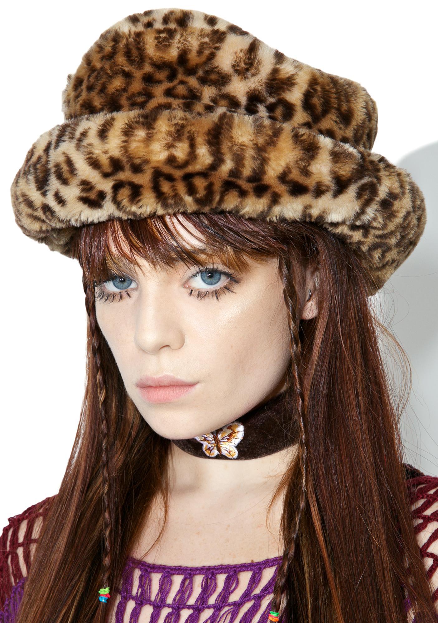 Vintage Leopard Bucket Hat  f94c4bacc98