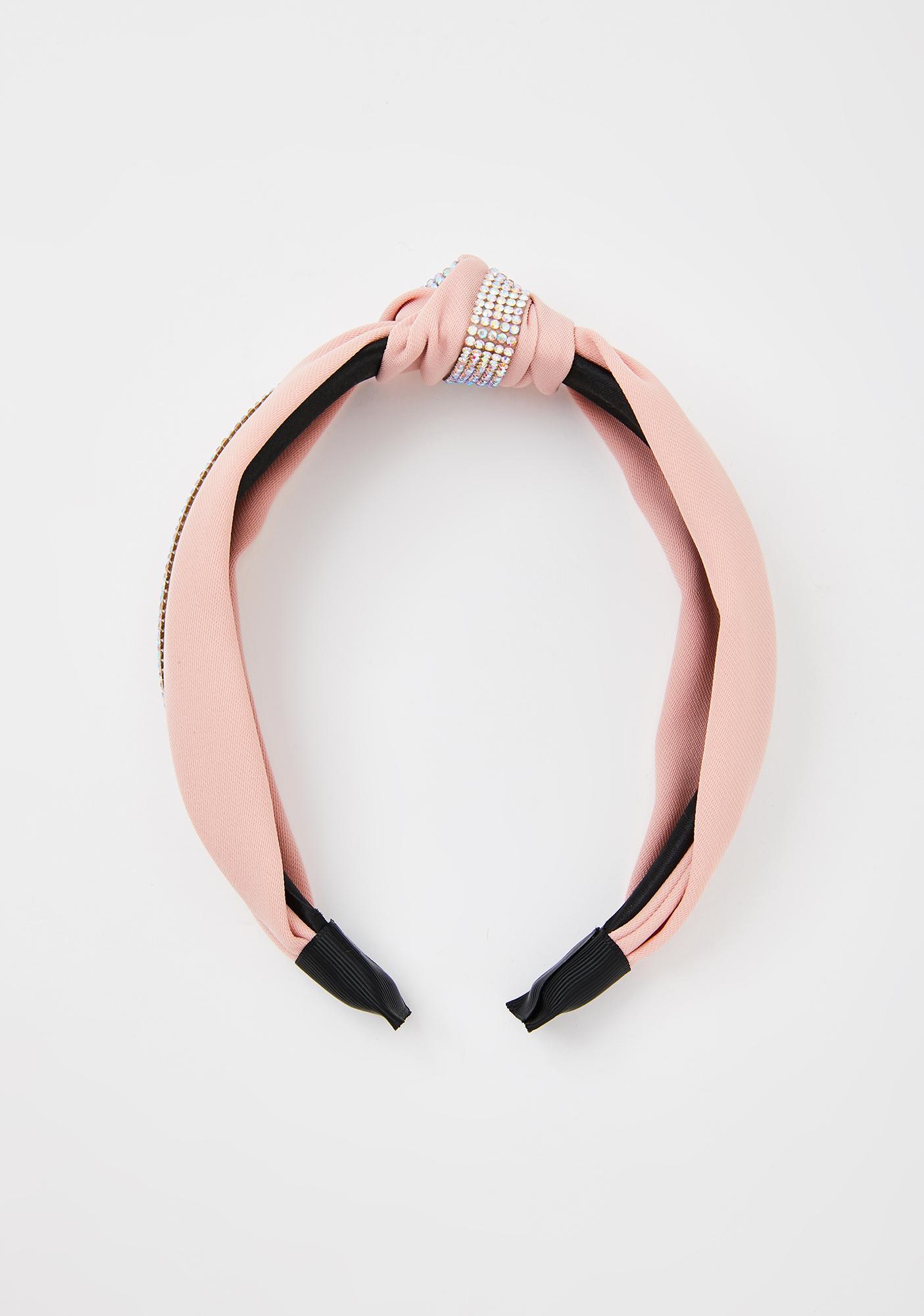 Sweet Love Knots Rhinestone Headband