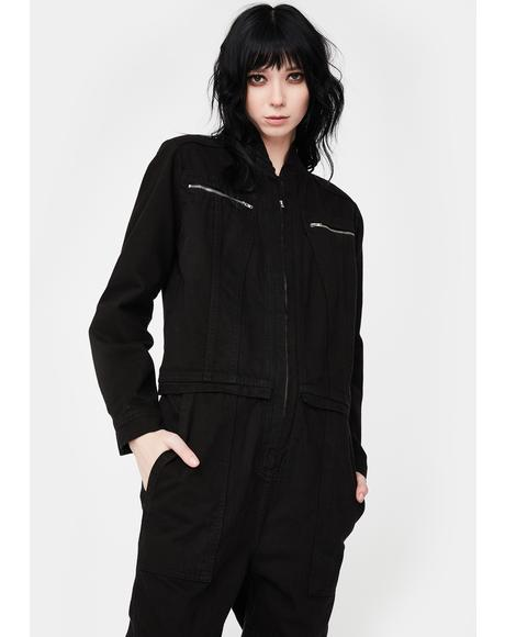 Lost In Your Light Cargo Jumpsuit