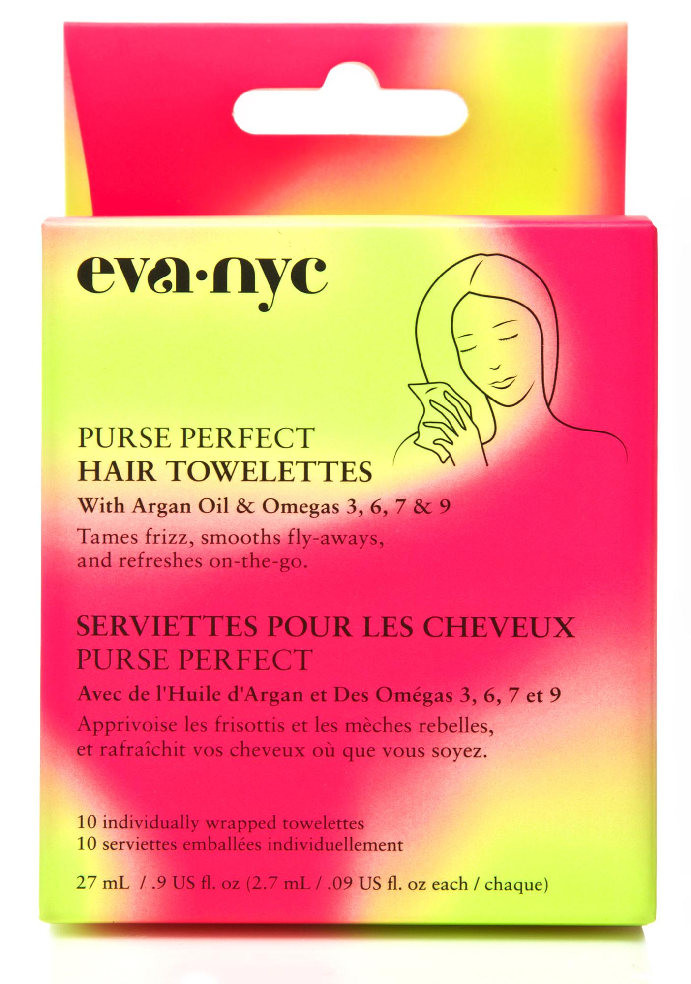 Eva NYC Purse Perfect Hair Towelettes