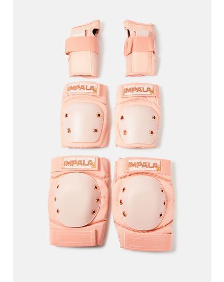 x Marawa Rose Gold Protective Gear Set