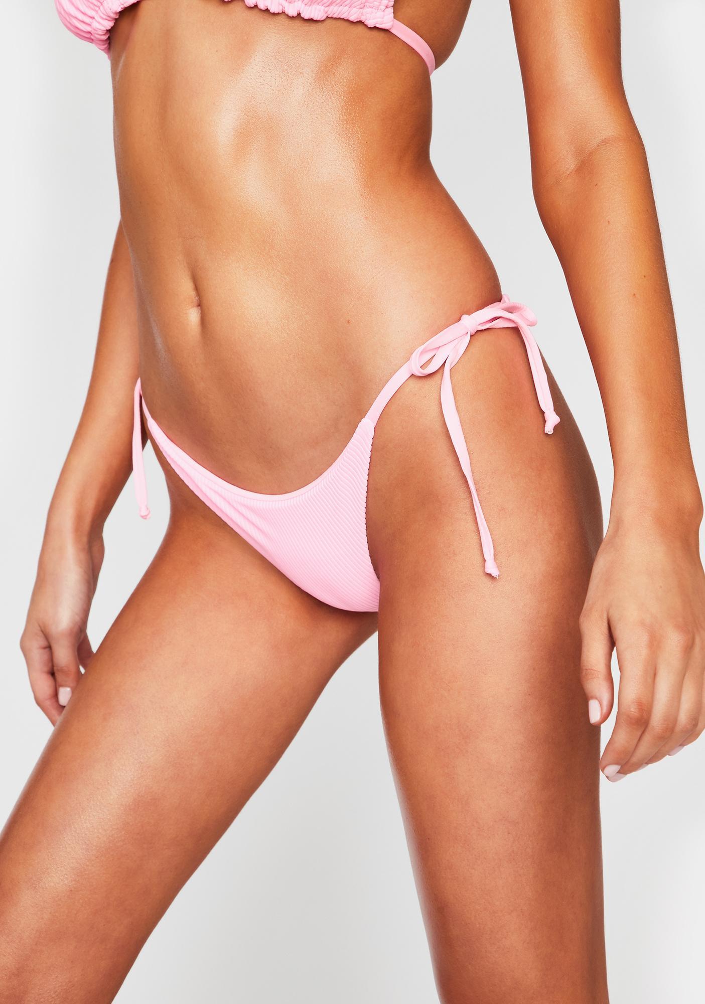 Frankies Bikinis Sky Bikini Bottoms