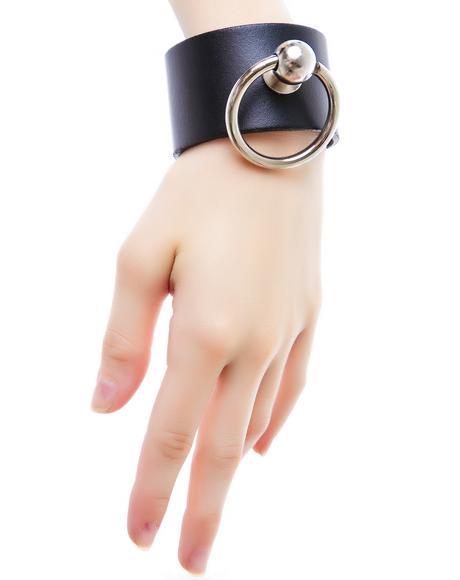 Saddle Stud O Ring Bracelet