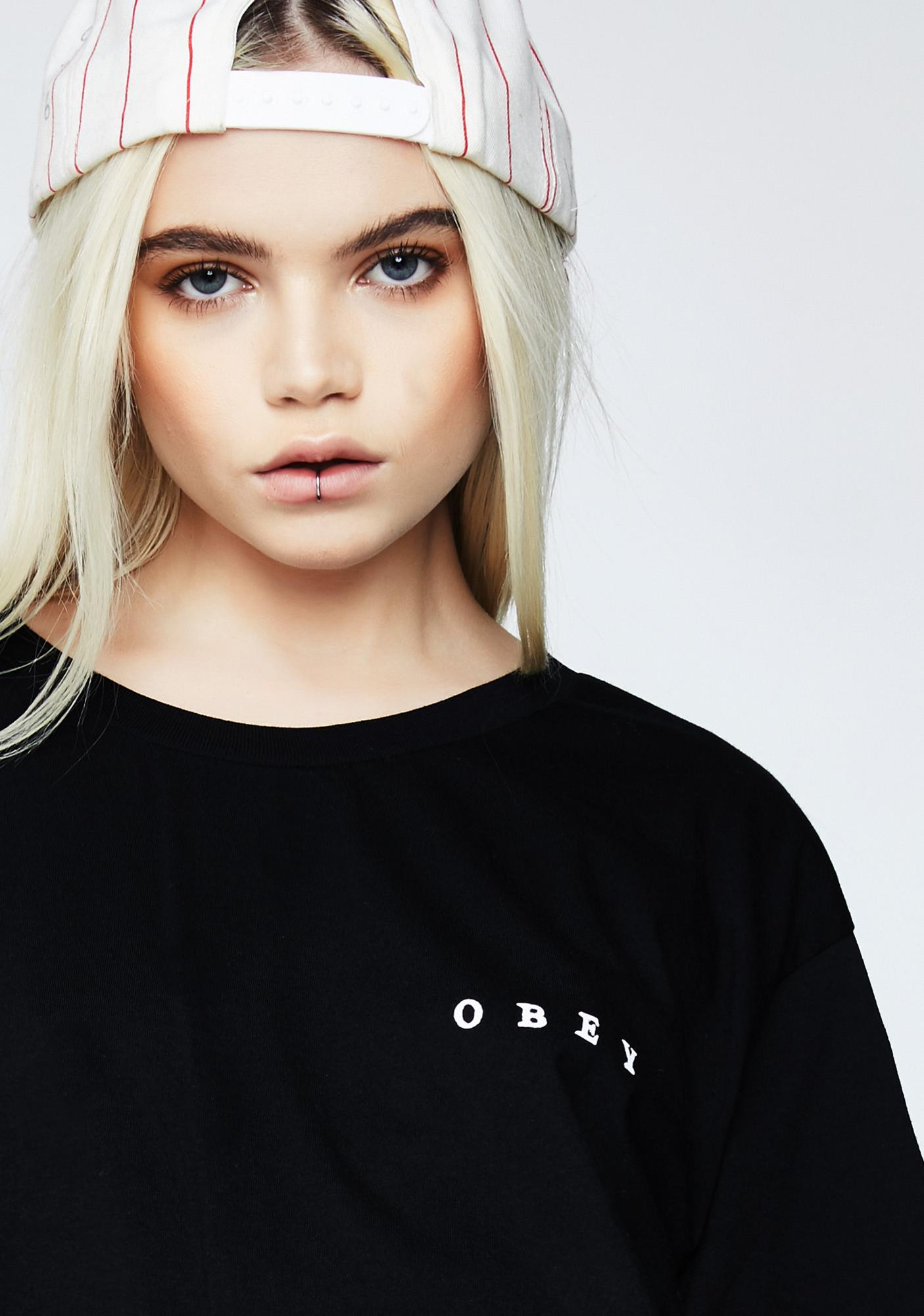 Obey Fight With Words Tee
