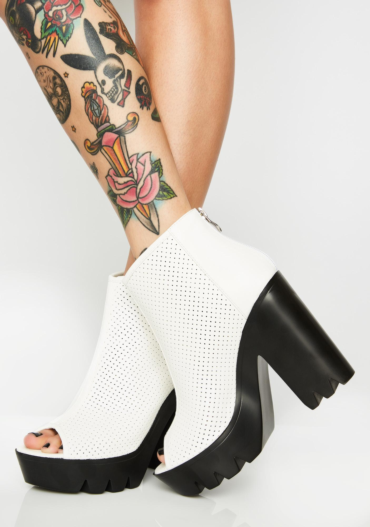 Bleached Fill The Void Booties