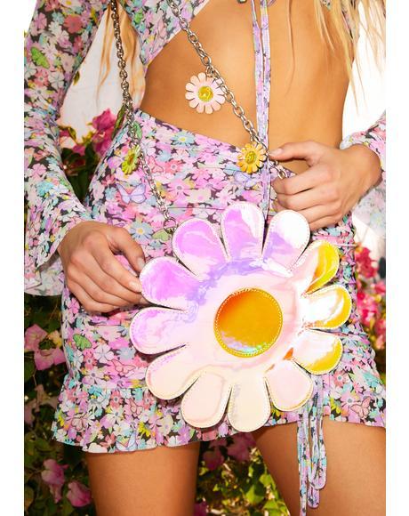 Blissful Bloom Iridescent Backpack