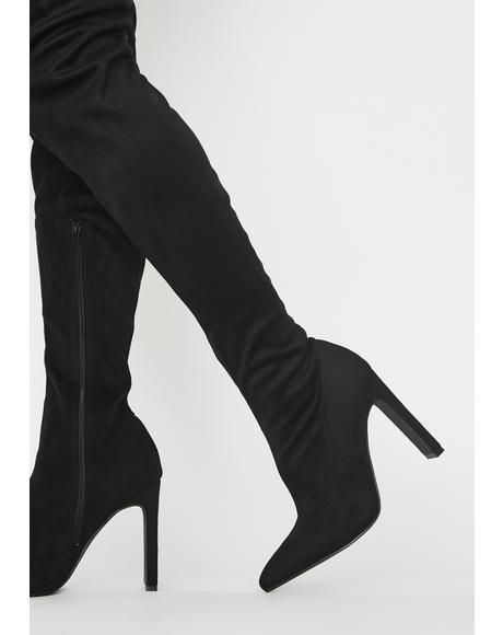 Miss Temptress Thigh High Boots