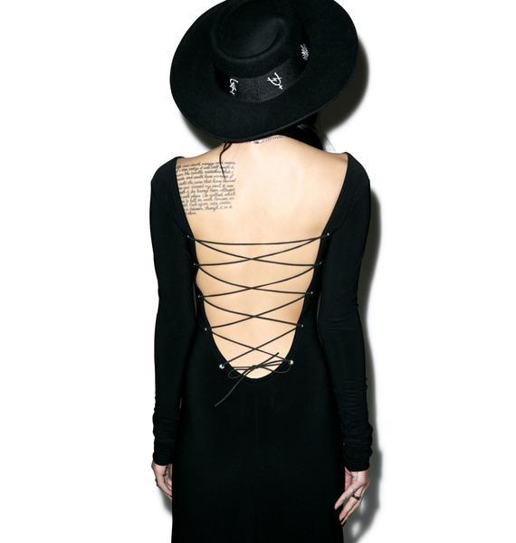 Black Wednesday The Black Magick Dress