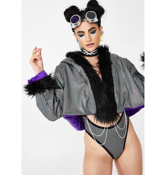Rolita Rave Couture Reversible Robo Jacket