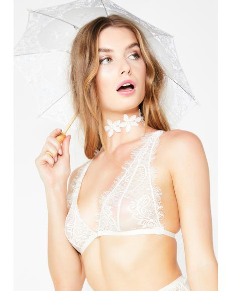Pure Sweetest Romance Lace Bralette