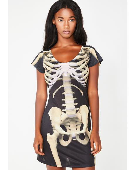 Bare Bones Mini Dress
