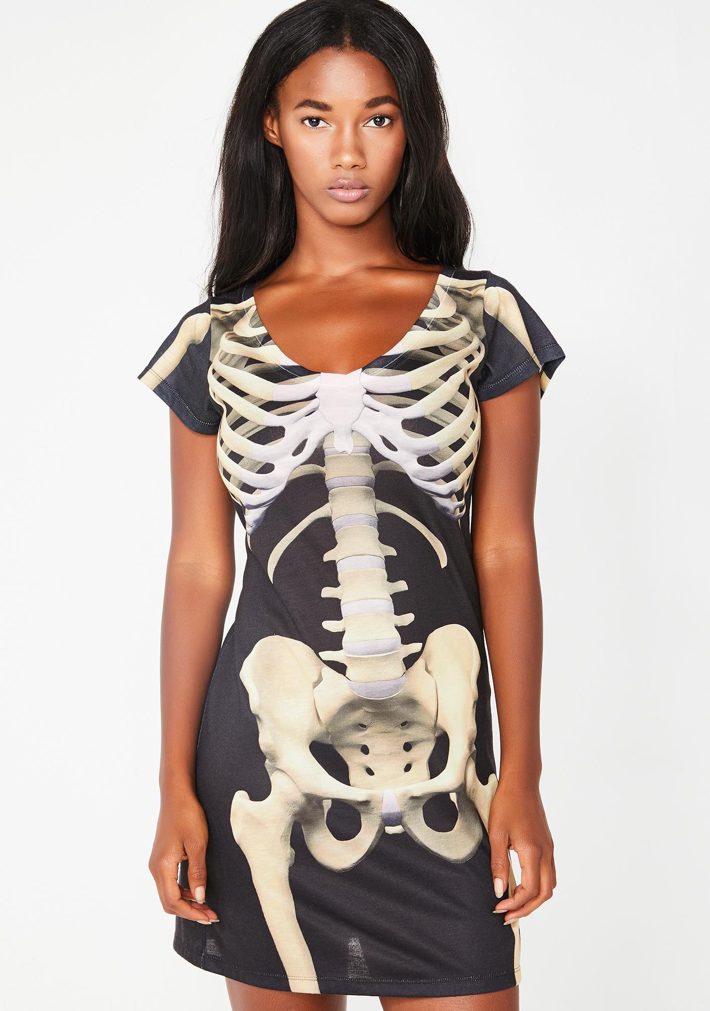 Bare Bones Mini Dress