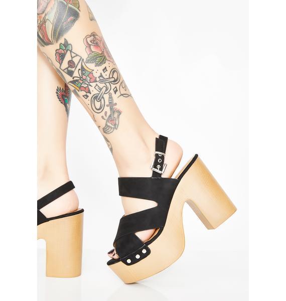 Strut About It Platform Sandals