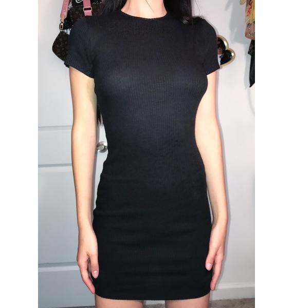 Basic Behavior Knit Dress