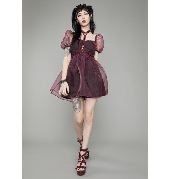 Widow Wine Hell On Earth Harness Dress