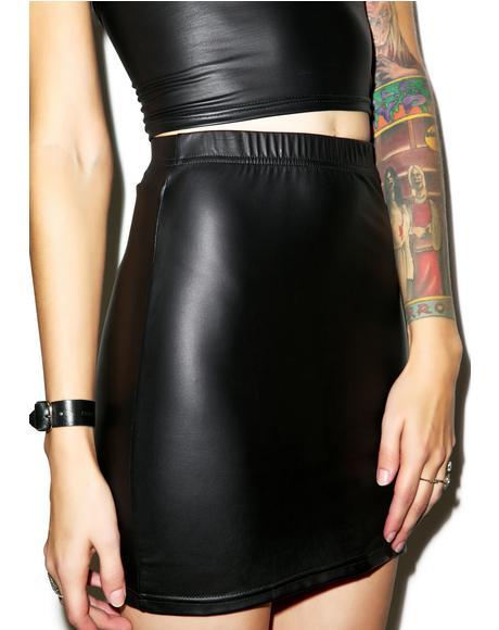 Liquid Ink Kimmy Skirt