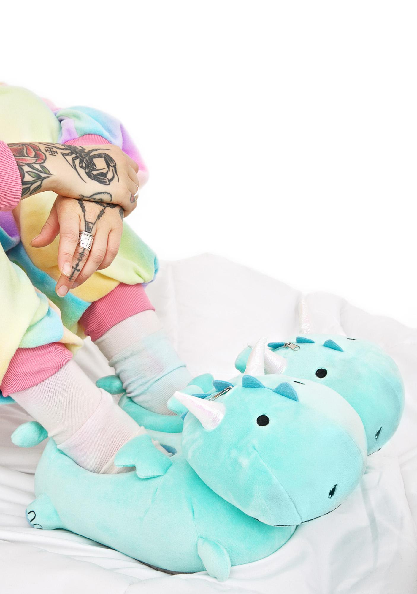 Smoko Dragon BB Light-Up Slippers