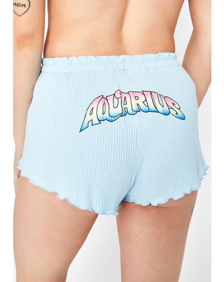Aquarius AF Pajama Shorts