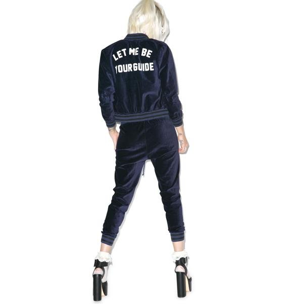 Wildfox Couture Let Me Be Baseball Jacket