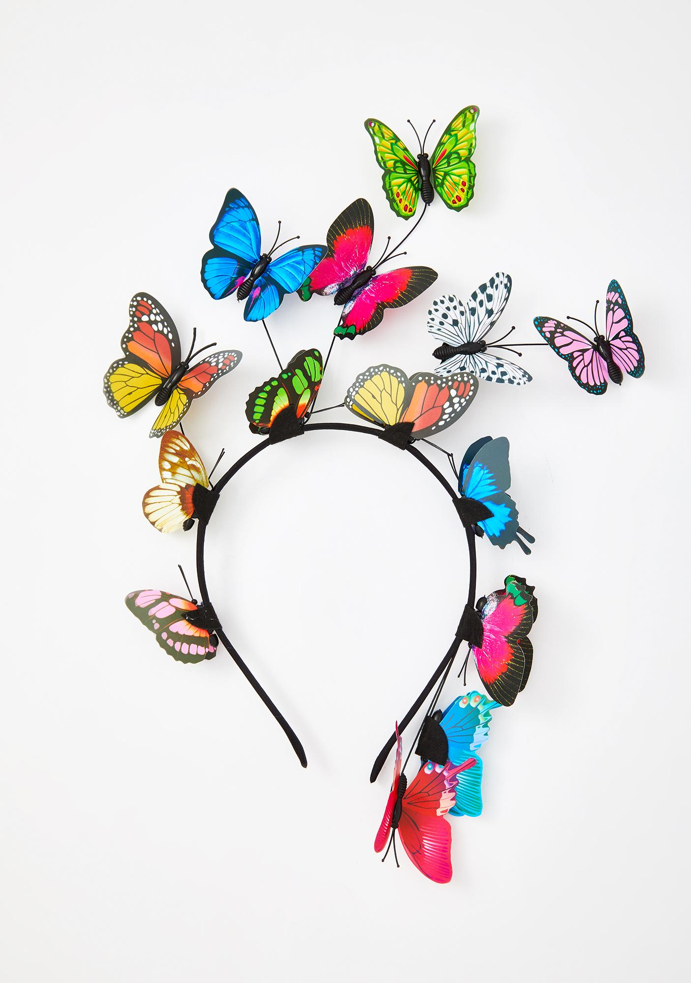 Lost In Dreams Butterfly Headband